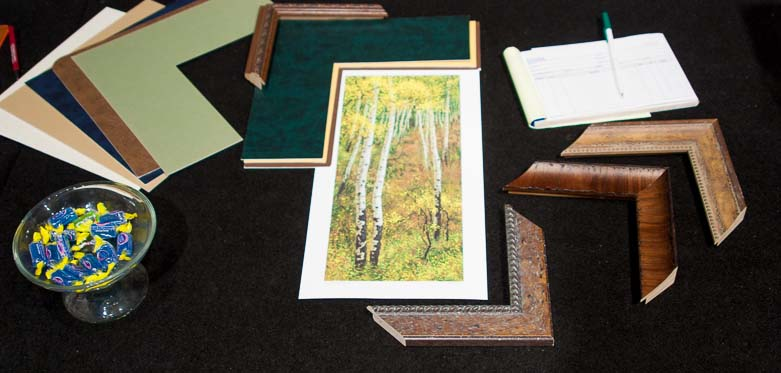 framing samples