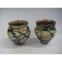 Sky River Glass -Nutwood Vases