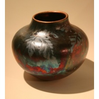 Raku Pottery by Jill Smith